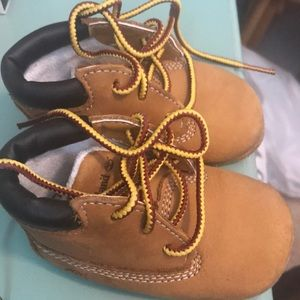 Timberland booties for baby